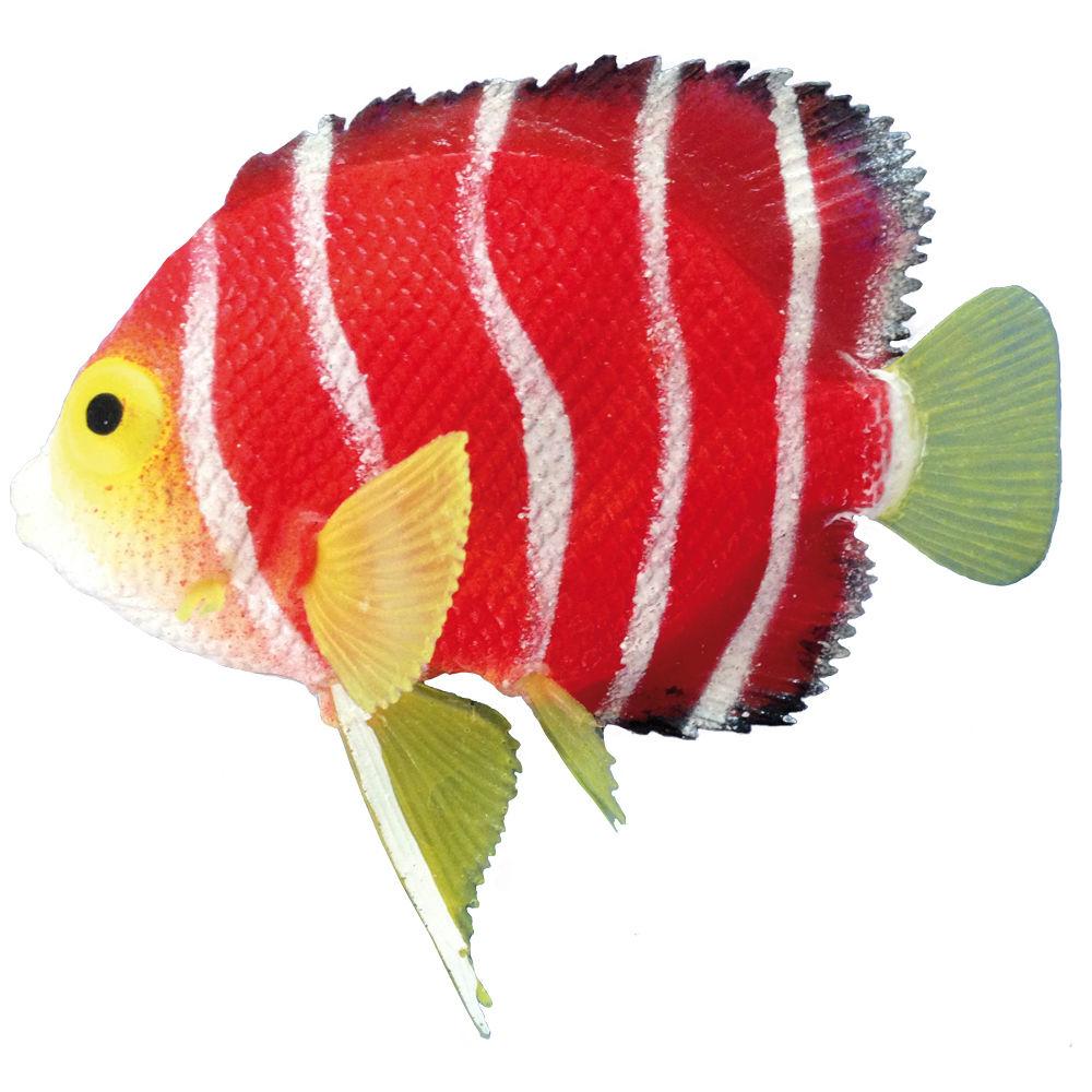 Nobby Aquarium Deko Fisch SKALAR, L11 x H9 cm