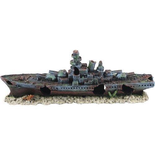 Aquatlantis Aqua Decor Zerstörerschiff