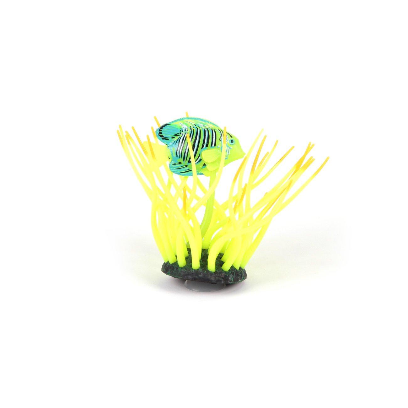 Aquatlantis Aqua Glow Anemone, mit Doktorfisch, gelb