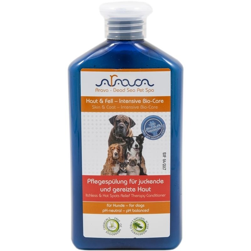 Arava Hundespülung für juckende und gereizte Haut
