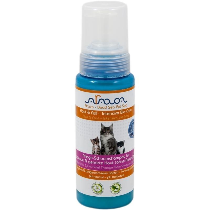 Arava Katzenshampoo für juckende & gereizte Haut, 250 ml