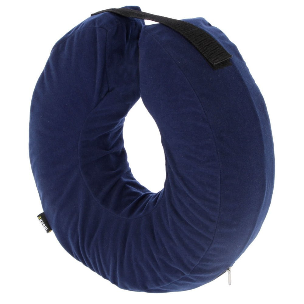 Kerbl Aufblasbare Hunde Halskrause, 18-30cm, blau