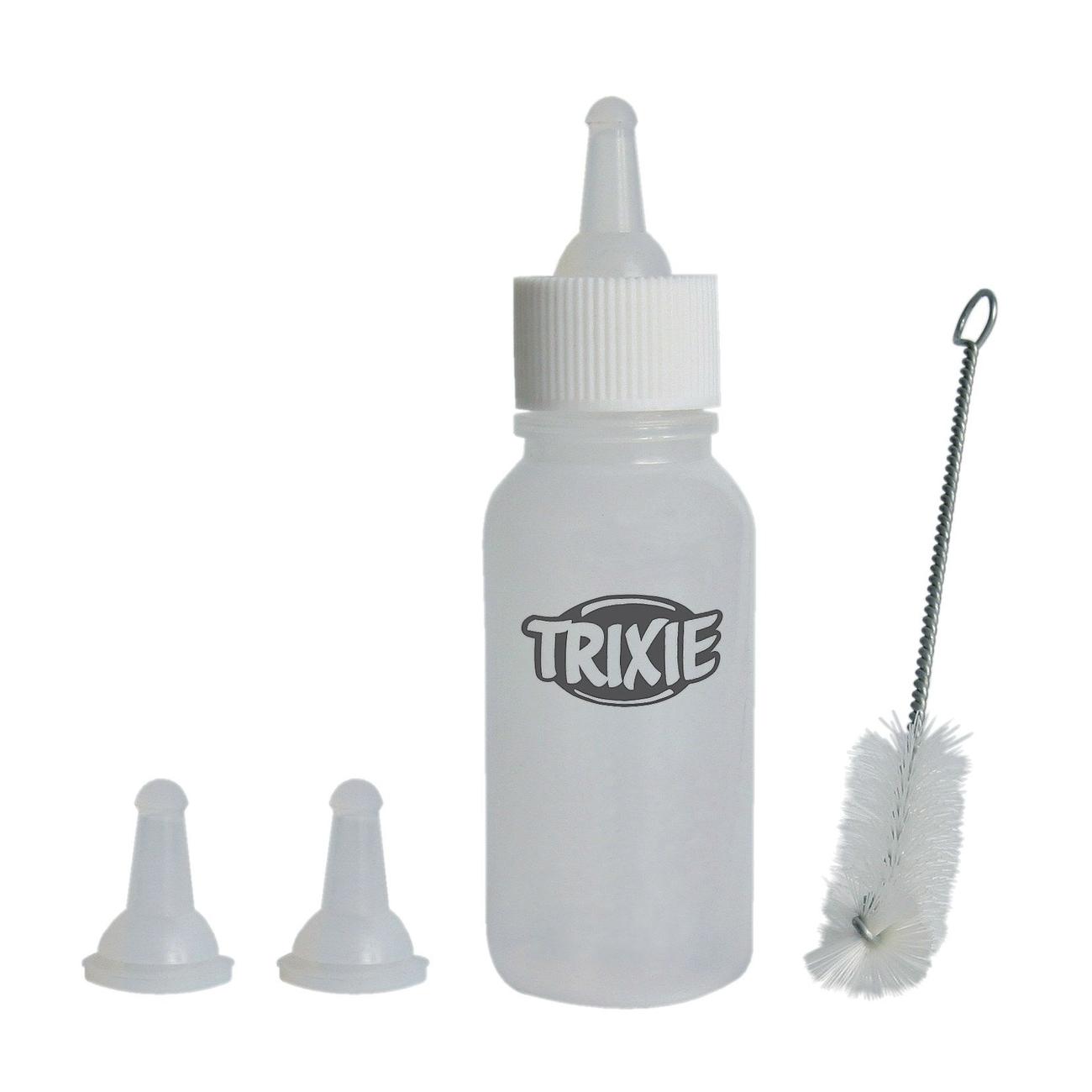 Trixie Aufzuchtflasche Saugflaschen-Set für Welpen, 57 ml