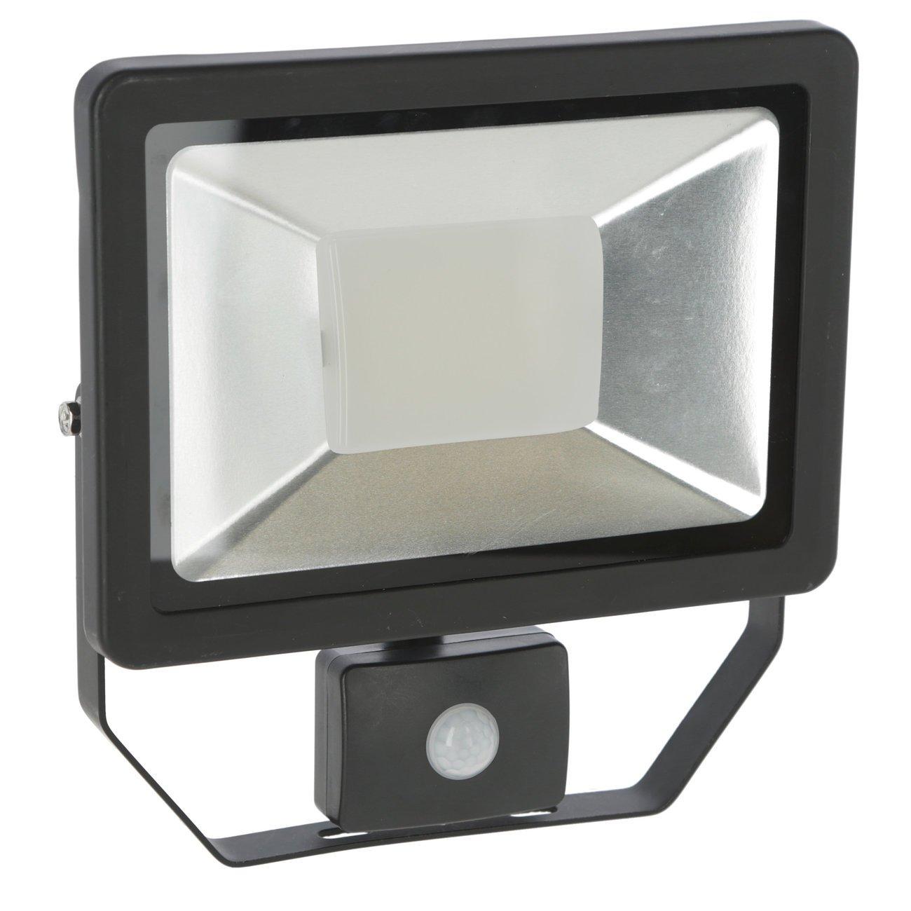 Kerbl Außenstrahler LED mit oder ohne Bewegungsmelder, 50 Watt - mit Bewegungsmelder