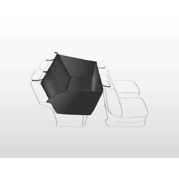TRIXIE Auto Hundedecke mit Seitenteilen für Rücksitz 1348, Bild 4
