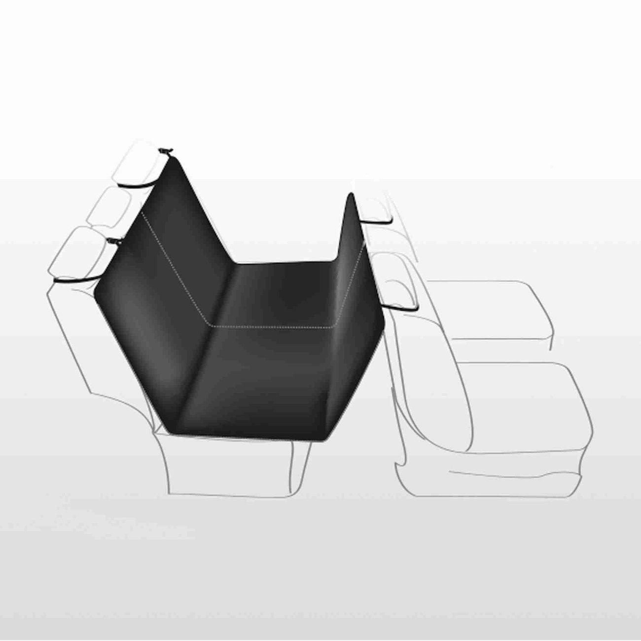 TRIXIE Auto Hundedecke mit Seitenteilen für Rücksitz 1348, Bild 3