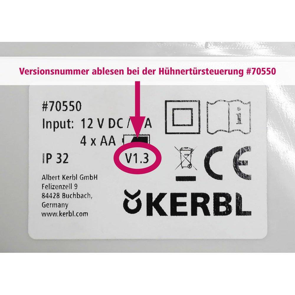 Kerbl Automatische Hühnertür Komplett-Set inkl. Schiebetür, Bild 16