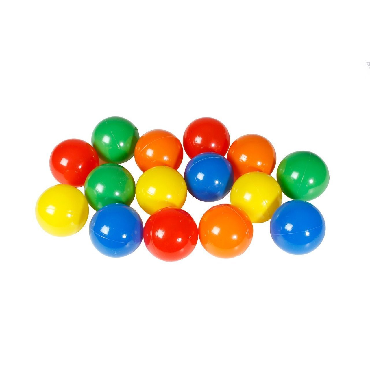 Karlie Bällebad Bälle für Hundepool Doggy Pool, 250 Stk, farblich sortiert
