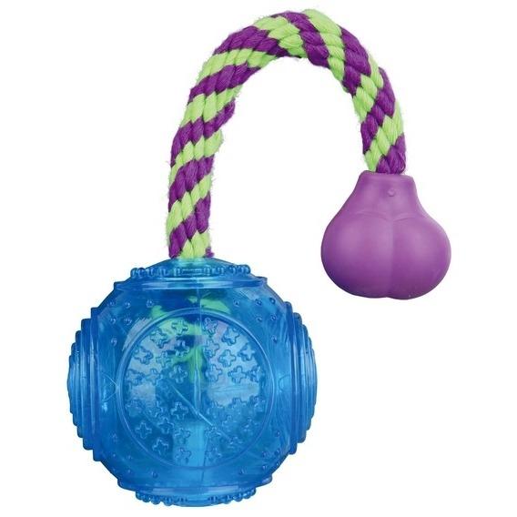 TRIXIE Ball am Seil aus thermoplastischem Gummi TPR 33657, Bild 2