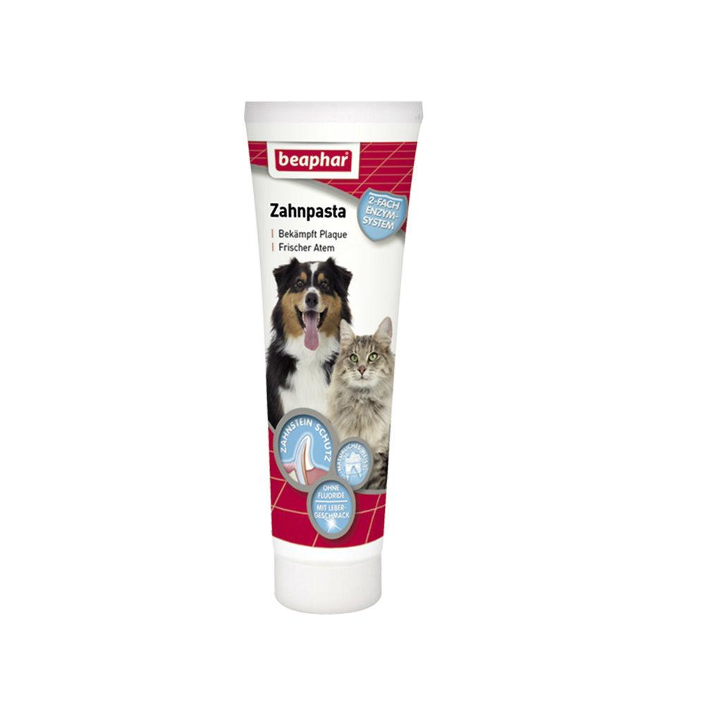 Beaphar Zahnpasta für Hunde und Katzen, 100 g