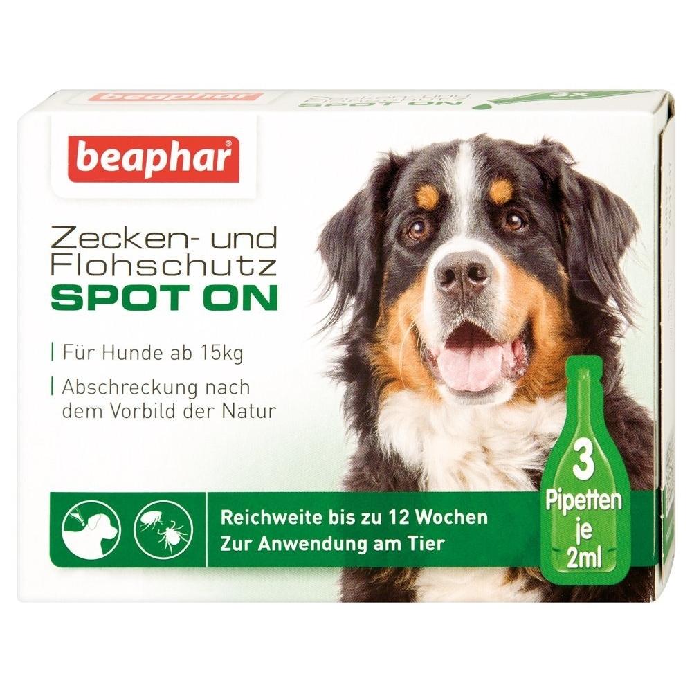 beaphar Zeckenschutz und Flohschutz SPOT-ON für Hunde, Bild 3