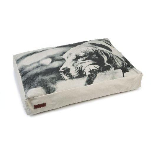 Beeztees Hangout Kissen für Hunde, beige - 100 x 70 x 15 cm