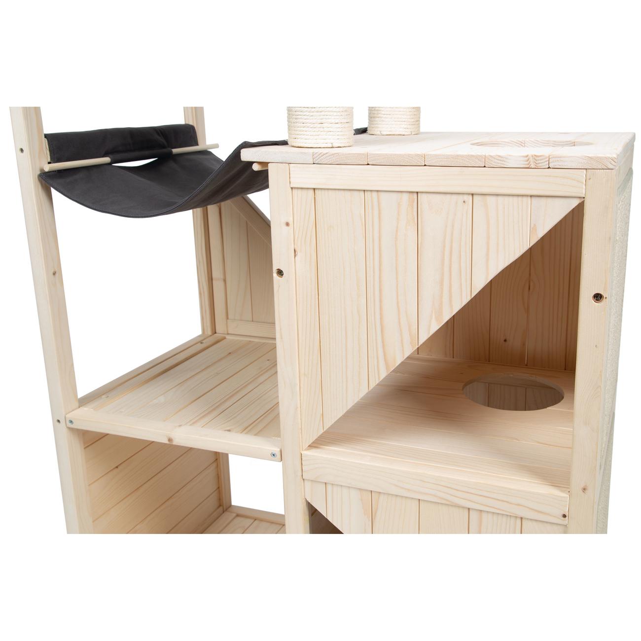 Beeztees Holz Kratzmöbel Vajra, Bild 5