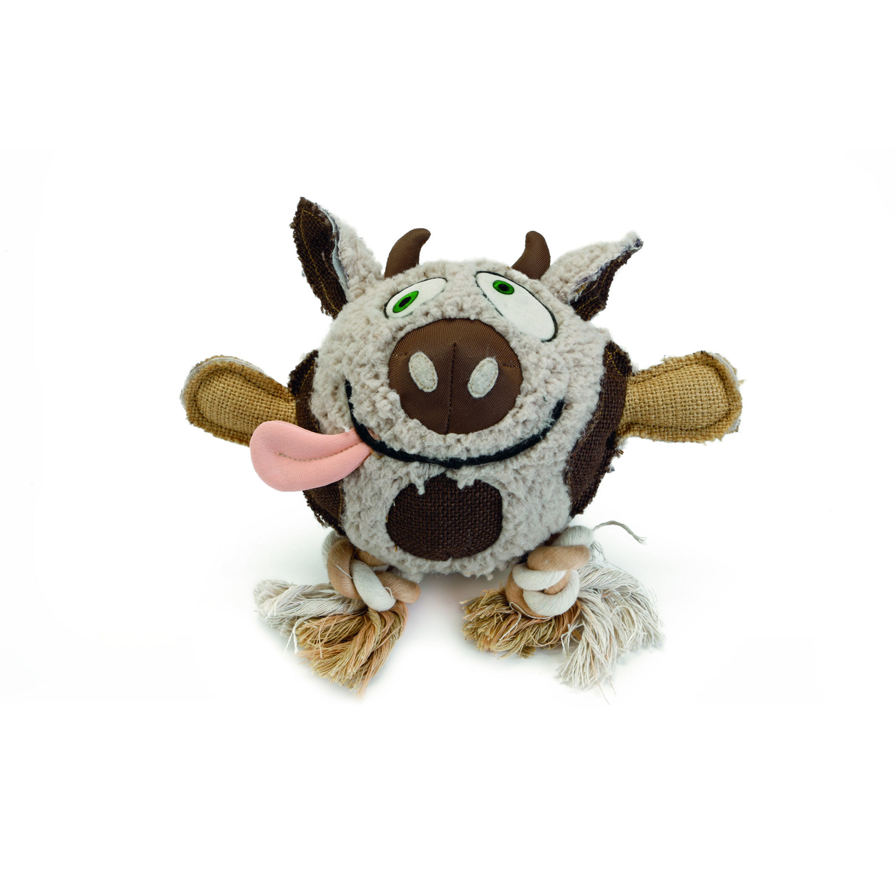 Beeztees Hundespielzeug aus Schafsfell, MULA , 28 cm