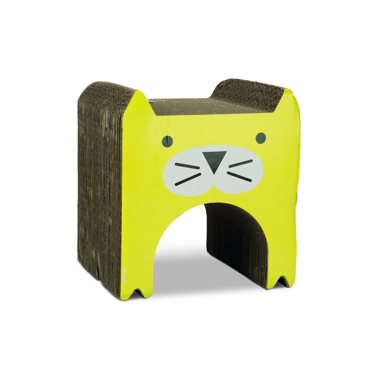Beeztees Katzen Kratzspielzeug aus Karton Wellpappe