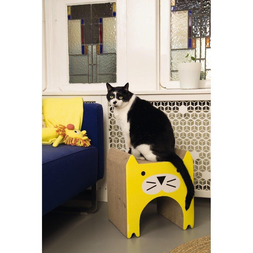 Beeztees Katzen Kratzspielzeug aus Karton Wellpappe, Bild 3