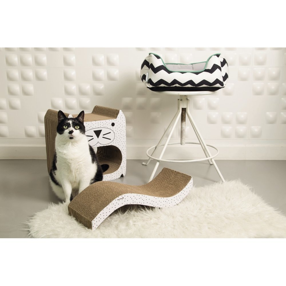 Beeztees Katzen Kratzspielzeug aus Karton Wellpappe, Bild 4