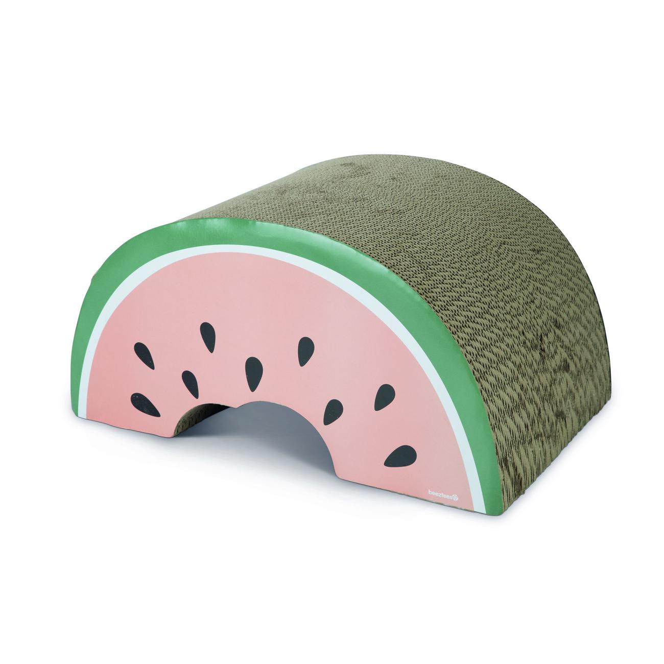 Beeztees Kratzspielzeug Wellpappe Karton Melone