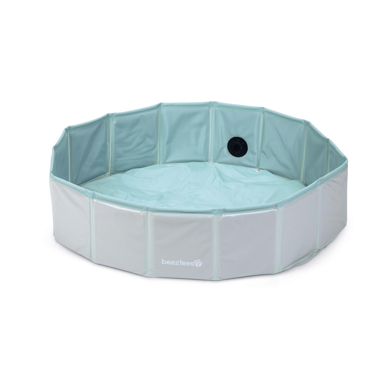 Beeztees Puppy Bällebad Hundepool Funchie, Pool, Bällebad 80 x 80 x 20 cm, mint, ohne Bälle