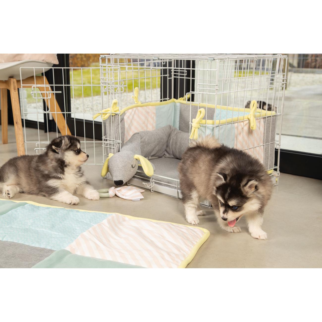 Beeztees Puppy Quilty Plaid Welpendecke, Bild 5
