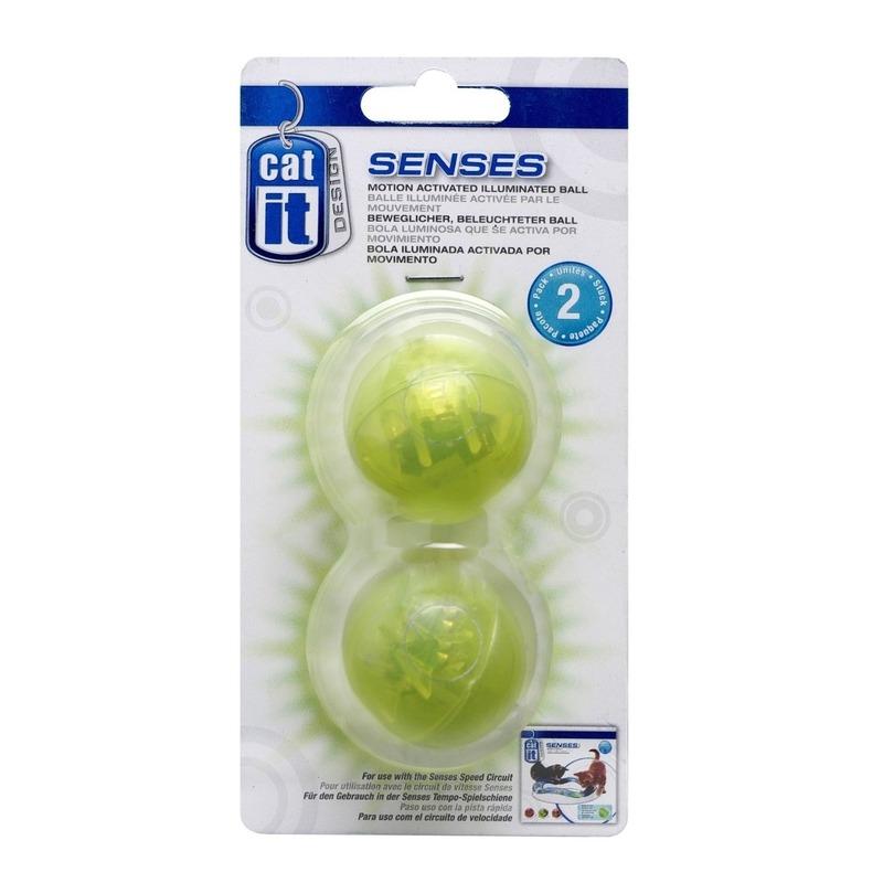 Beleuchteter Ball 2er Set für CatIt Senses Spielschienen, 2er Set