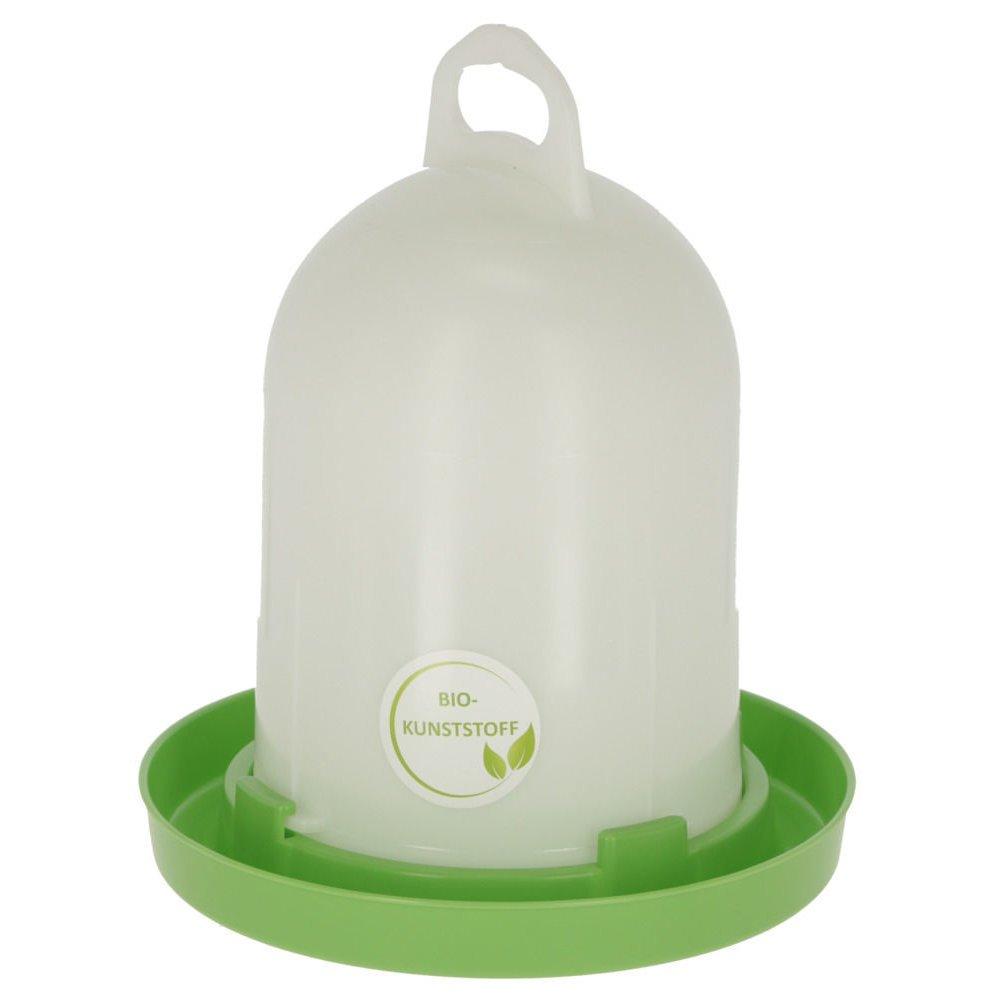 Kerbl Bio-Kunststofftränke für Küken und Hühner, 5,5 l für Küken u. Hühner