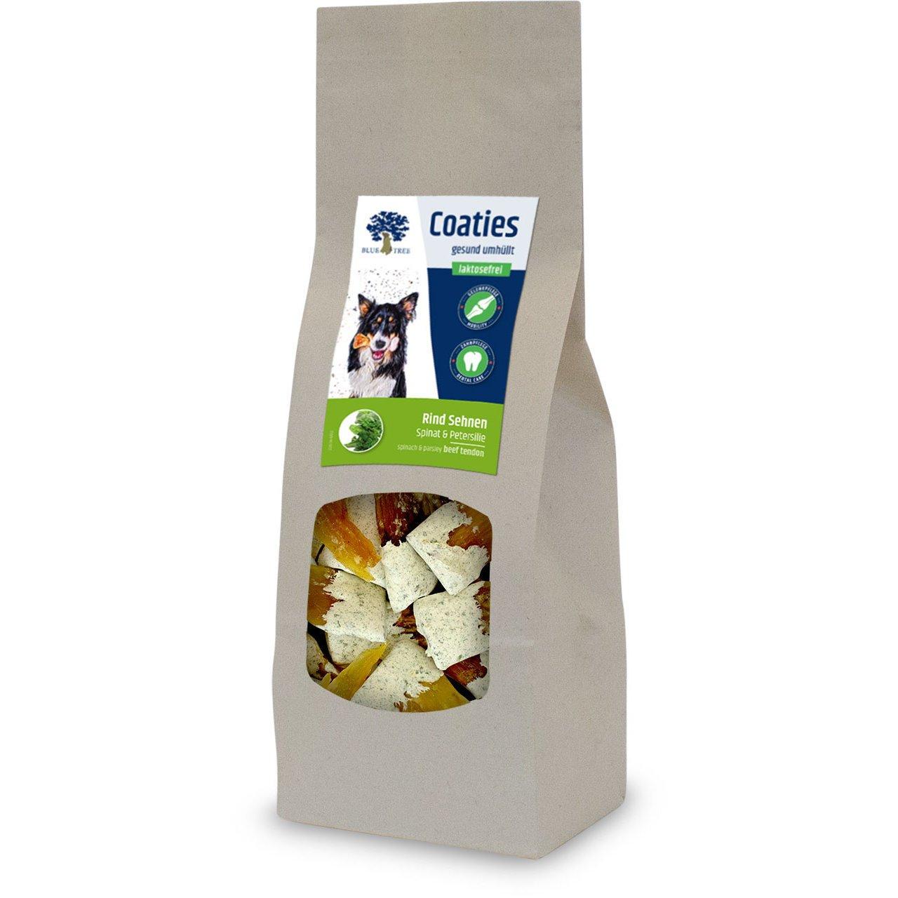 Blue Tree Coaties Hundekausnack mit laktosefreier Milch, Rind Sehnen 100g