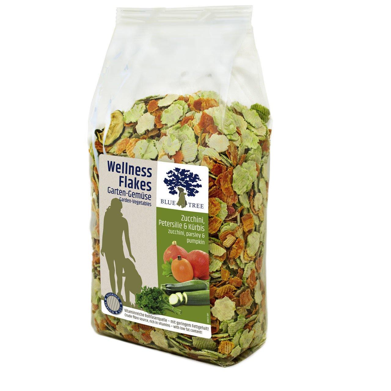 Blue Tree Wellness Flakes für Hunde, Garten-Gemüse 650g