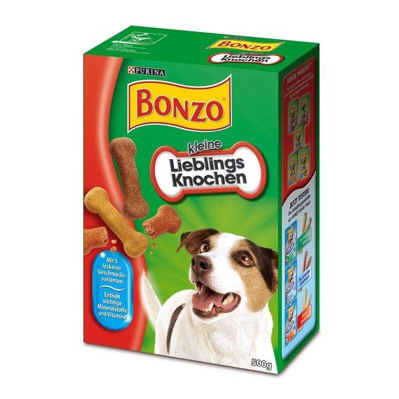 Purina Bonzo kleine Lieblingsknochen