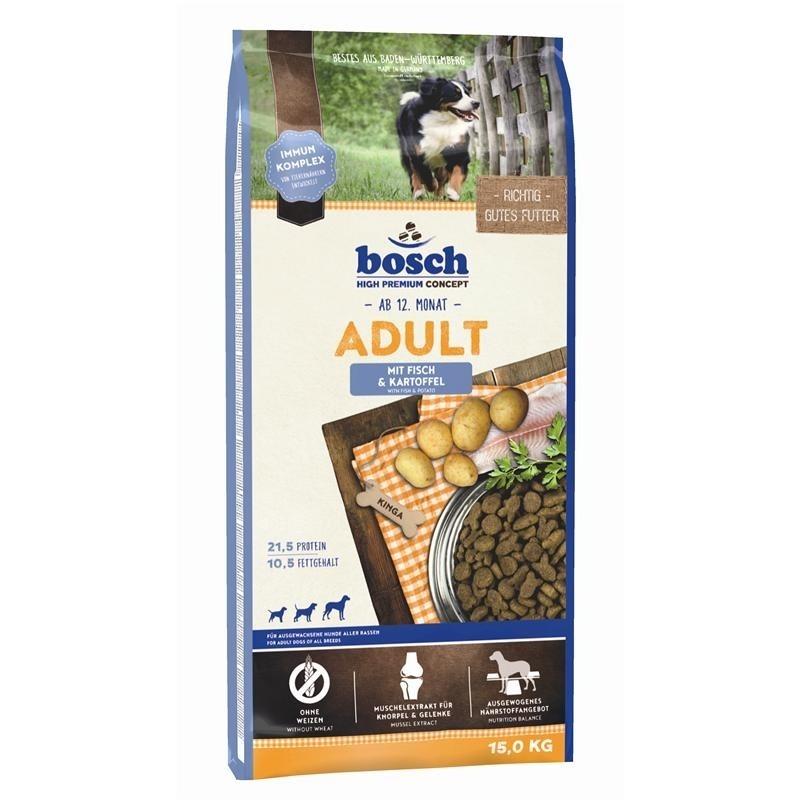 Bosch Adult Fisch & Kartoffel Hundefutter, 15 kg