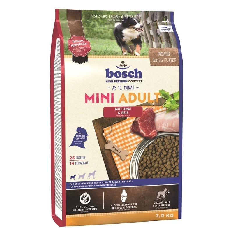 Bosch Adult Mini Lamm & Reis Hundefutter, Bild 3