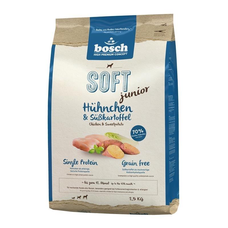 Bosch HPC Soft Junior Hühnchen & Süßkartoffel Hundefutter, Bild 3