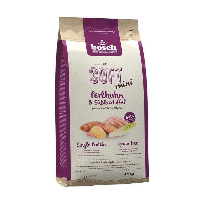 Bosch Soft Mini Hundefutter, Perlhuhn & Kartoffel 1 kg