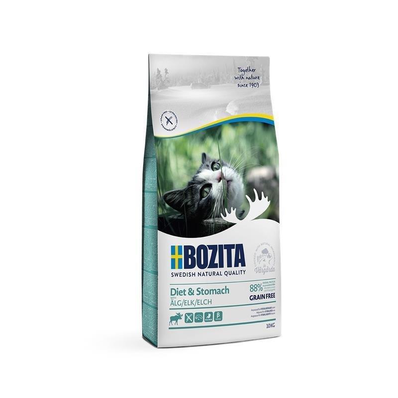 Bozita Trockenfutter Diet & Stomach Getreidefrei Elch, 10kg
