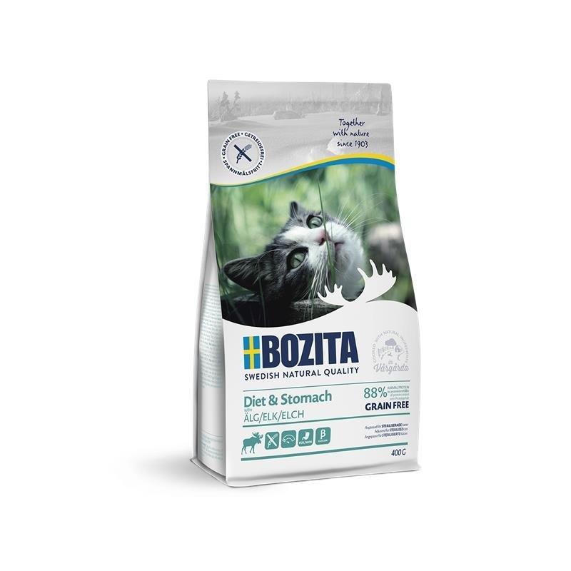Bozita Trockenfutter Diet & Stomach Getreidefrei Elch, 400g