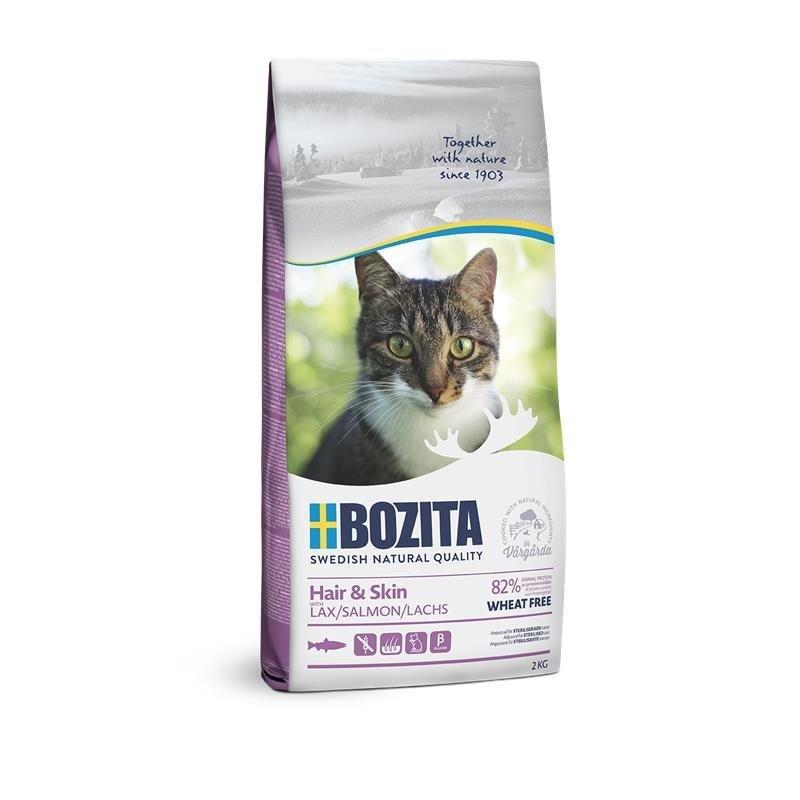 Bozita Trockenfutter Hair & Skin Weizenfrei Lachs, 2kg