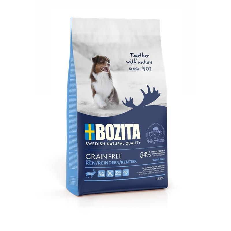 Bozita Hundefutter Grain Free Rentier, Bild 2