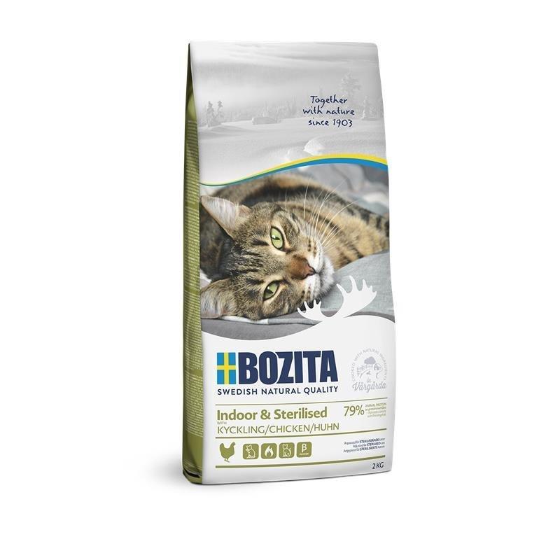 Bozita Trockenfutter Indoor & Sterilised Huhn, 2kg