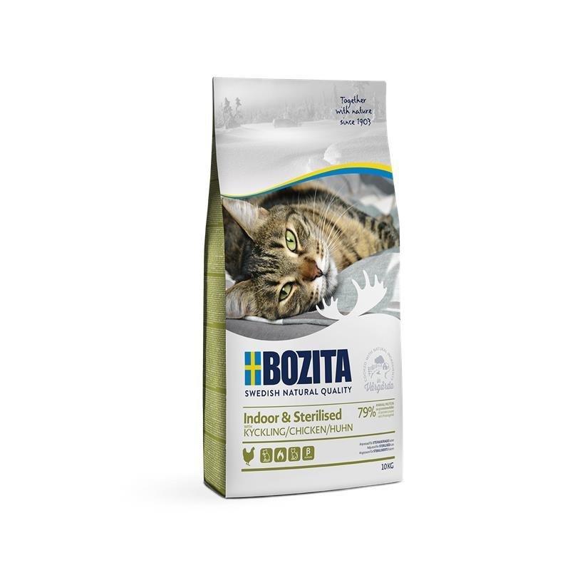 Bozita Trockenfutter Indoor & Sterilised Huhn, 10kg