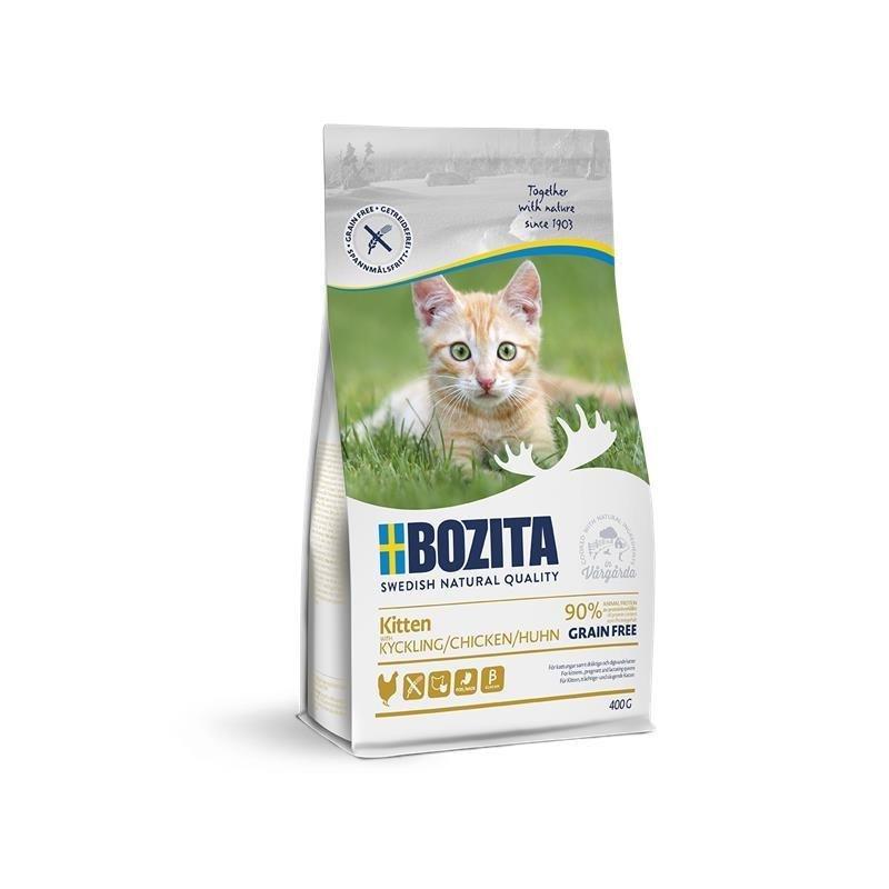 Bozita Trockenfutter Kitten Getreidefrei Huhn, 400g