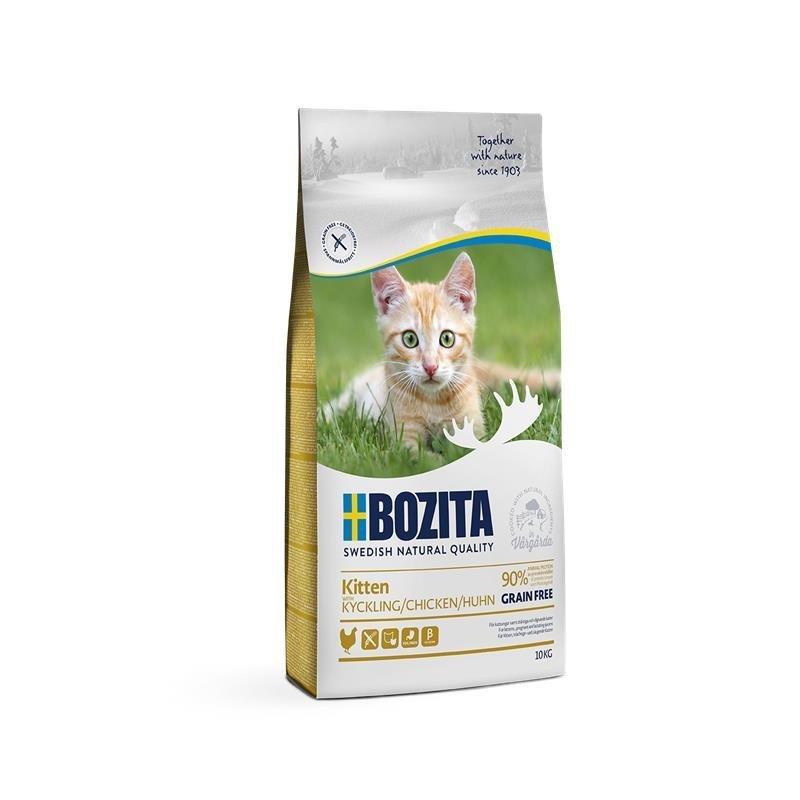 Bozita Trockenfutter Kitten Getreidefrei Huhn, 10kg