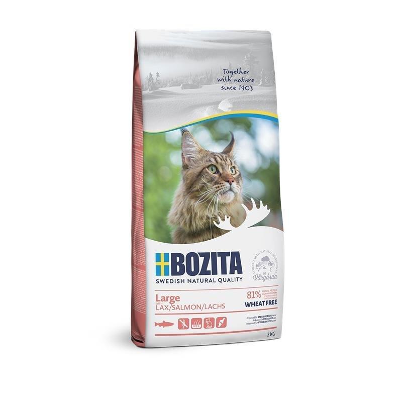 Bozita Katzenfutter Large Weizenfrei Lachs, 2kg