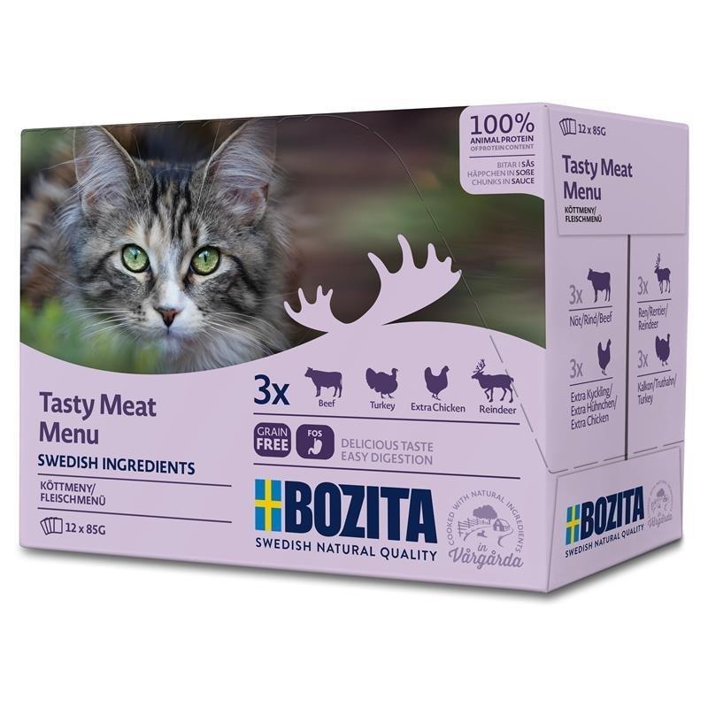 Bozita Katzenfutter Multibox Häppchen in Soße, Bild 2