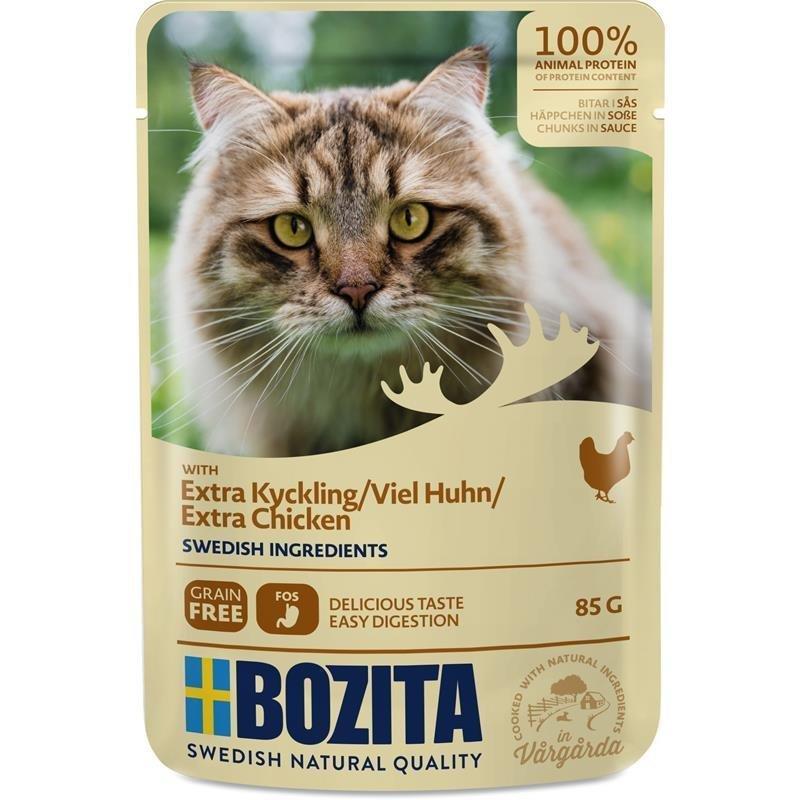 Bozita Pouch Katzenfutter Häppchen in Soße, Bild 4