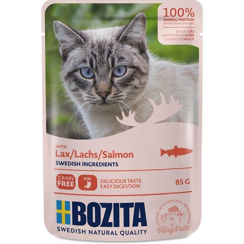 Bozita Pouch Katzenfutter Häppchen in Soße, Bild 2
