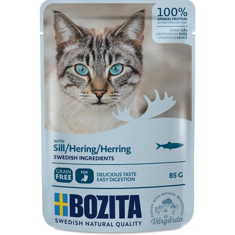 Bozita Pouch Katzenfutter Häppchen in Soße, Bild 6