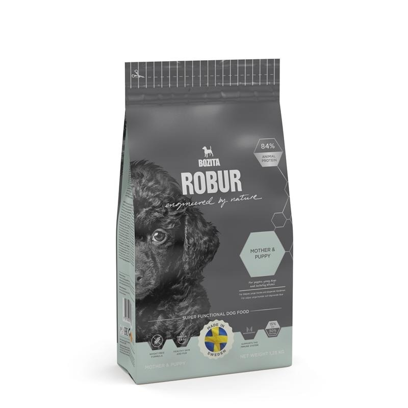 Bozita Robur Mother & Puppy Hundefutter, 14 kg