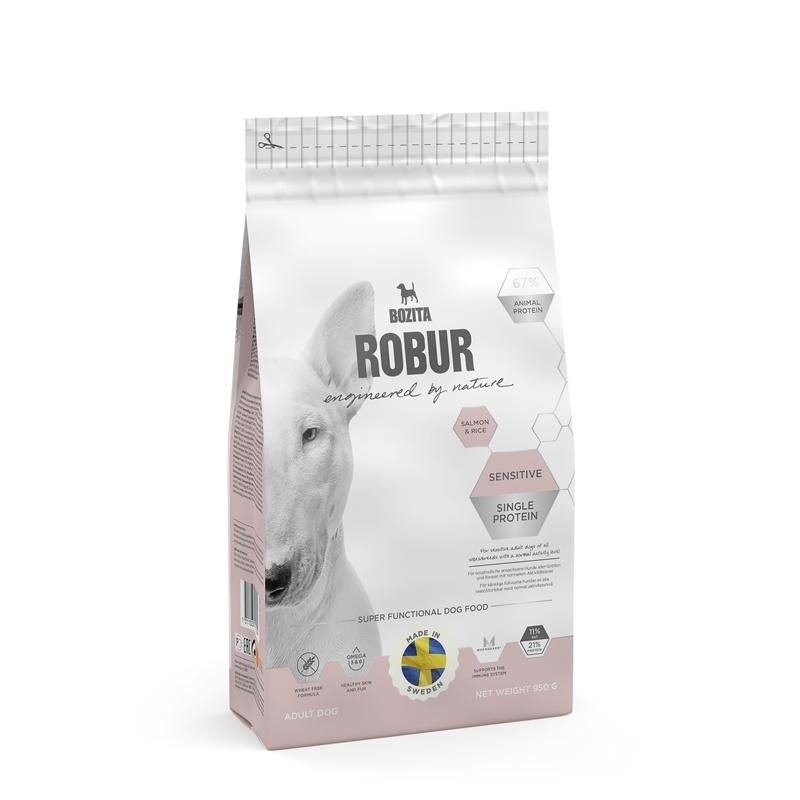 Bozita Robur Sensitive Single Protein Salmon & Rice Hundefutter, Bild 2