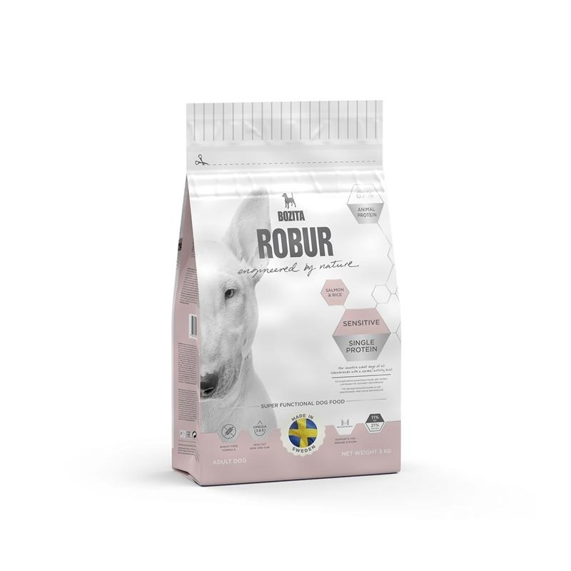 Bozita Robur Sensitive Single Protein Salmon & Rice Hundefutter, Bild 3