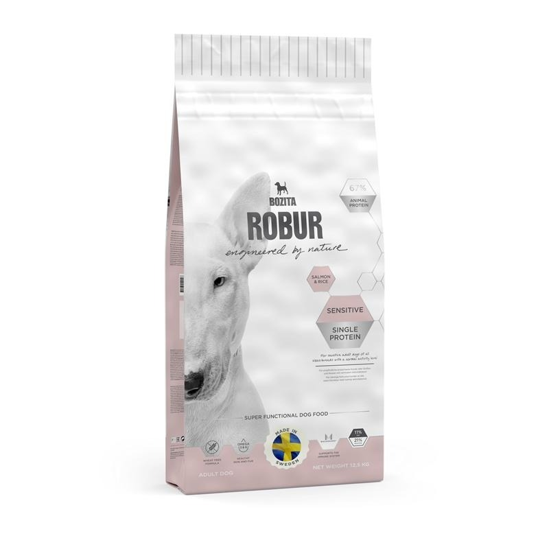 Bozita Robur Sensitive Single Protein Salmon & Rice Hundefutter